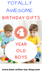 Best toys for 4 year old boy 2018