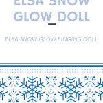 ELSA SNOW GLOW DOLL