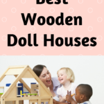 large wooden doll houses