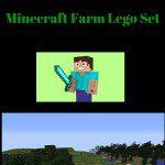 minecraft farm lego set