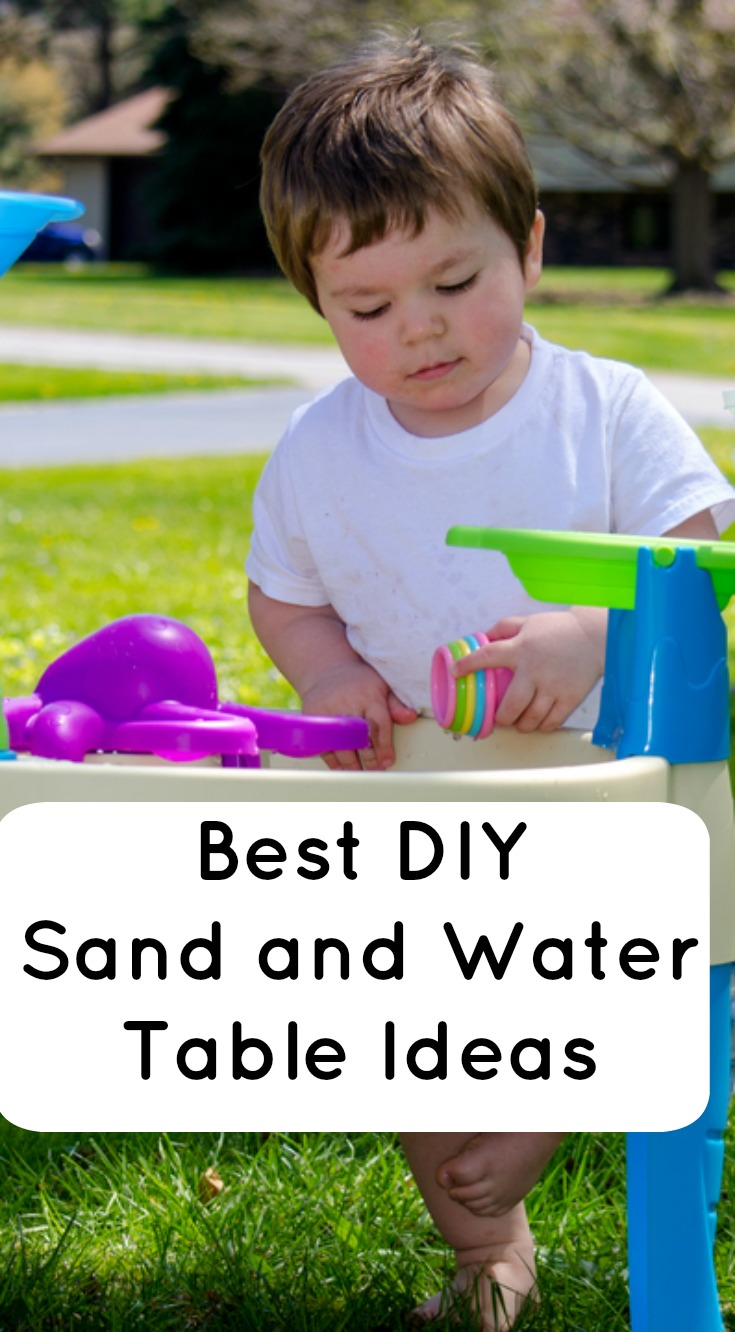 Best diy sand and water table ideas for sensory play for Best online store ideas