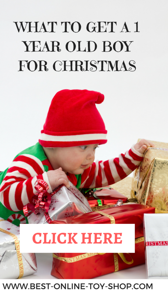 What to get a 1 year old boy for christmas 2017