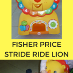 fisher price stride ride lion
