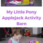 my little pony applejack activity barn