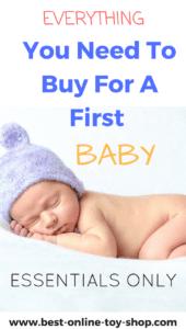 first baby checklist