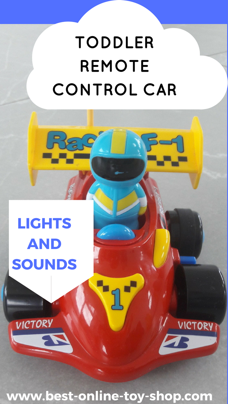 Best Car Toys For Toddlers : Remote control car for toddler with lights and sounds