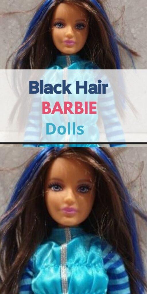 Barbie with Black Hair